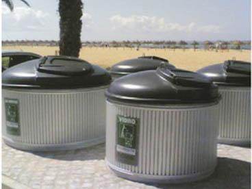 环保地埋型收集桶